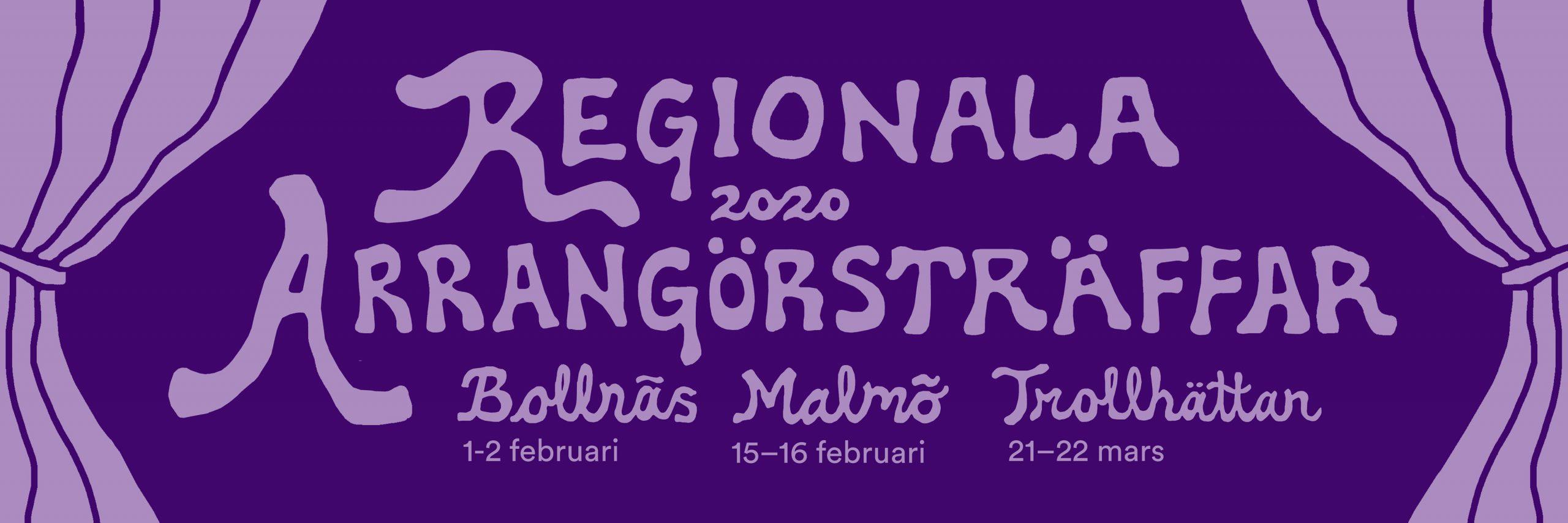 Regionala arrangörsträffar 2020